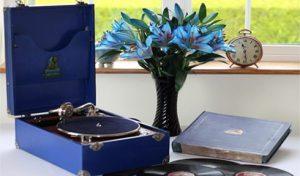 Jedson Portable Gramophone caseyclockrestoration