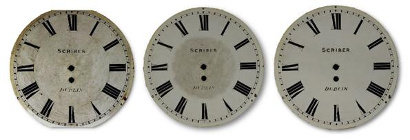 Cleaning clock dials / face caseyclockrestoration