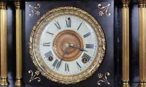 Ansonia Clock Dial / face caseyclockrestoration