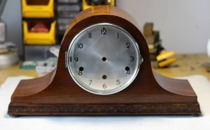 HAC Napoleon Hat Clock Case caseyclockrestoration