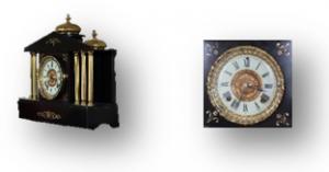 Ansonia Black Slate Clock caseyclockrestoration