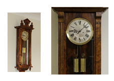 Gustav Becker Regulator Clock Circa-1925 caseyclockrestoration