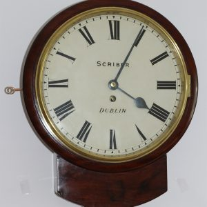 Scriber of Dublin Drop Dial Clock caseyclockrestoration