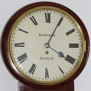 Scriber Drop Dial Clock caseyclockrestoration
