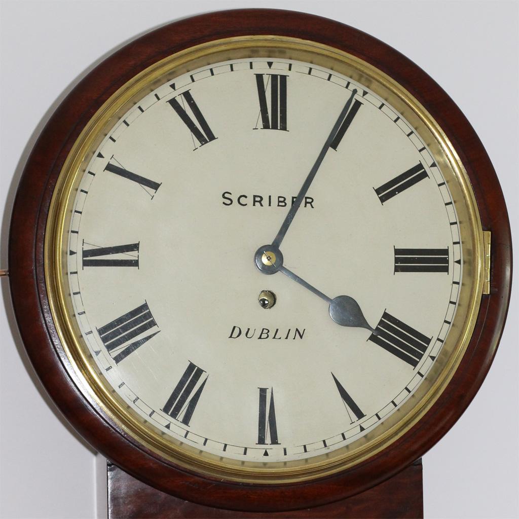 Scriber Drop Dial Clock caseyclockrestoration
