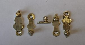 Brass Clock Door latches caseyclockresoration