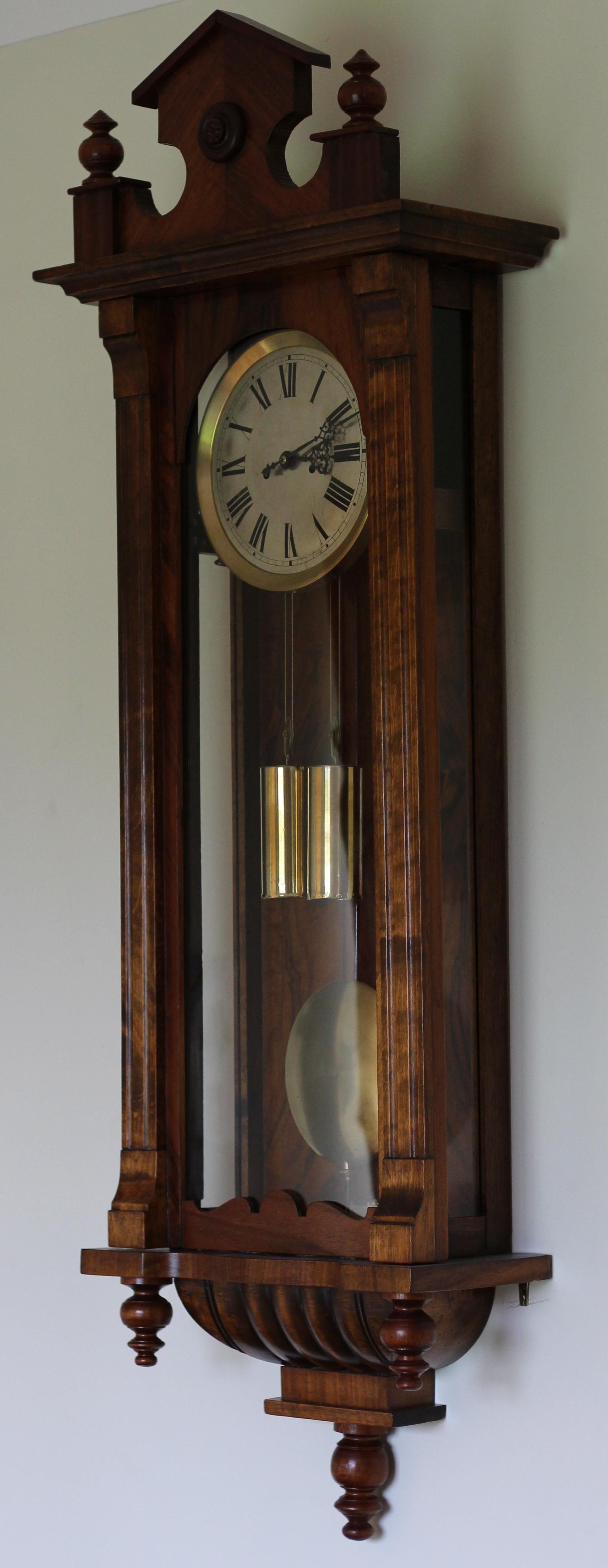 Gustav Becker Double Weight Regulator Clock caseyclockrestoration