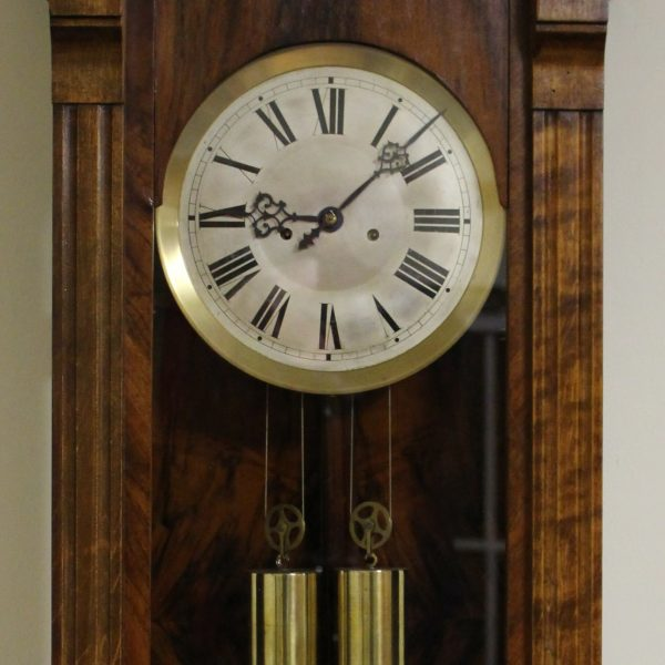Gustav Becker Twin Weight Regulator Clock caseyclockrestoration