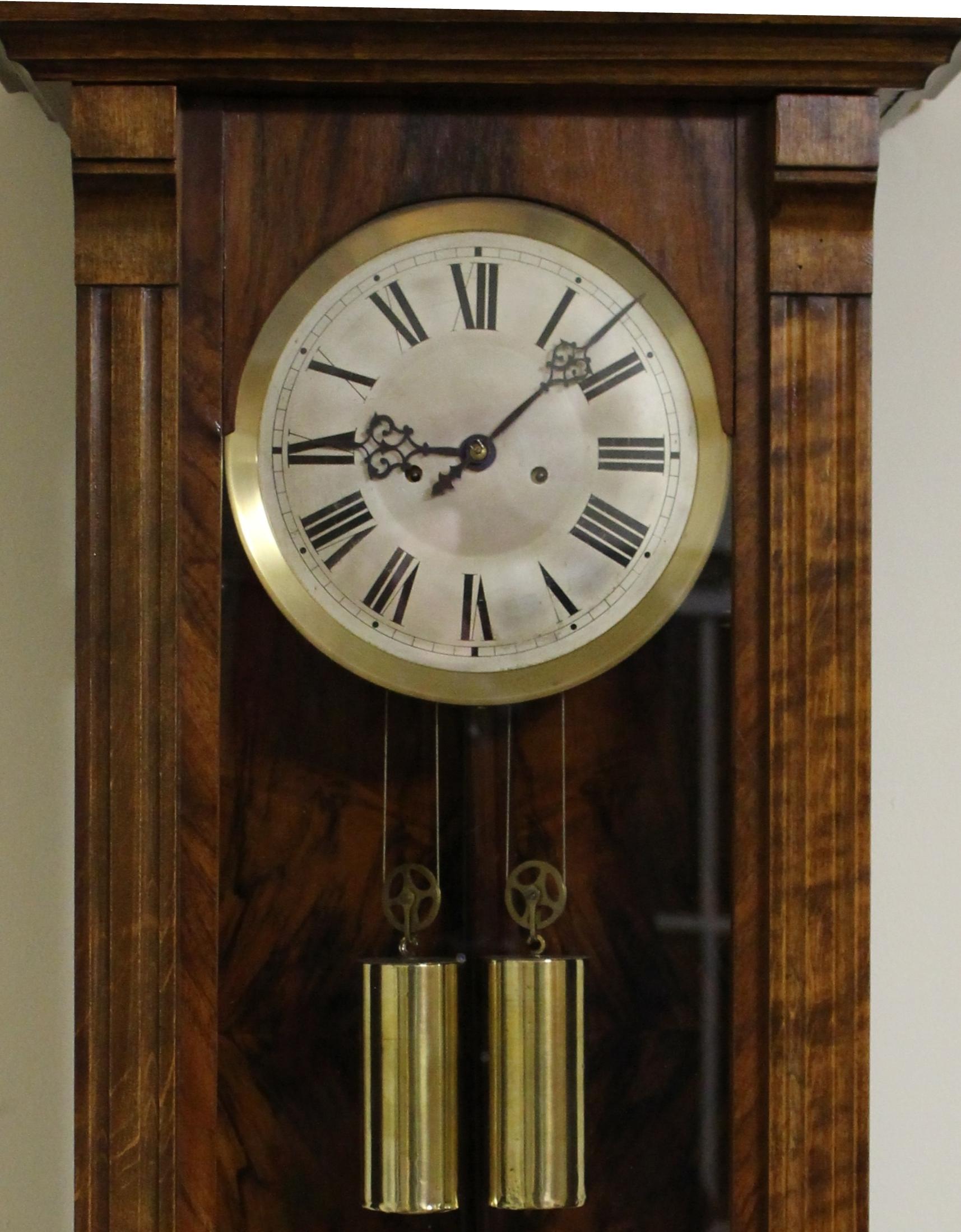 Gustav Becker Twin Weight Regulator Clock caseyclockrestoration