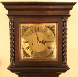 Grandfather Clock Dial, Casey Clock Restoration