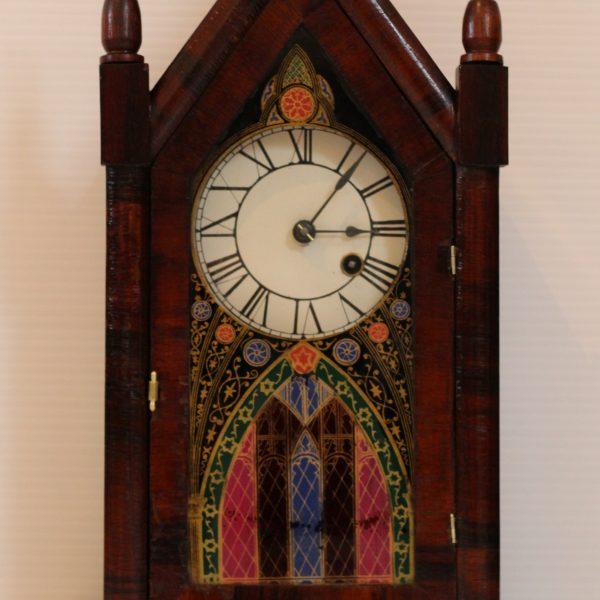 Union Clock Company Steeple Clock casey clock restoration.ie