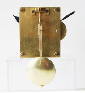 Bryson movement back Casey Clock Restoration