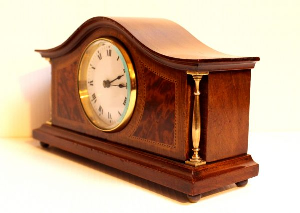 French mantel timepiece side view Casey Clock Restoration
