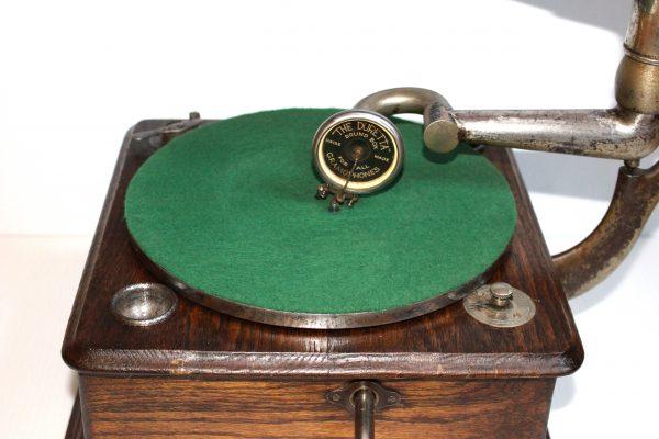 Thorens Helvitia gramophone sound box and turntable Casey Clock Restoration