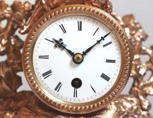 French Ormolu dial Casey Clock Restoration