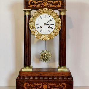 Japy Freres Portico Clock circa 1850 - 1858. Casey Clock Restoration