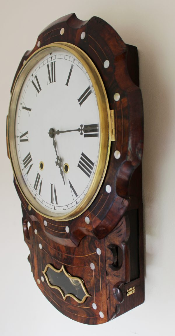 New Haven Scalloped edge drop dial casey Clock Restoration