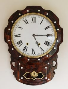 New Haven Scalloped edge drop dial casey Clock Restoration