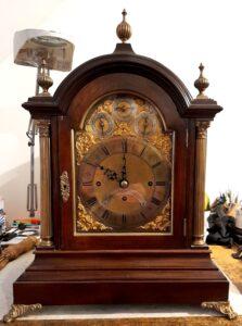James Wilson 3 train Fusee Bracket Clock, Casey Clock Restoration