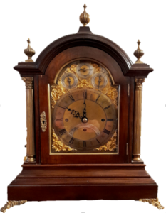 3 Train Wilson Fusee Bracket Clock, Casey Clock Restoration