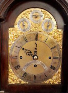 3 train Wilson Fusee Dial, Casey Clock Restoration