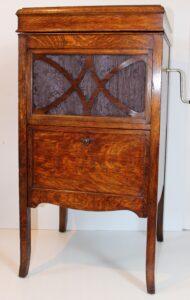 HMV Bijou Cabinet Gramophone Circa 1935, Casey Clock Restoration